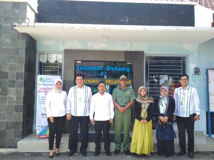Kunjungan Dewas BPJS Ketenagakerjaan Terkait Desa Sadar Jaminan sosial Ketenagakerjaan