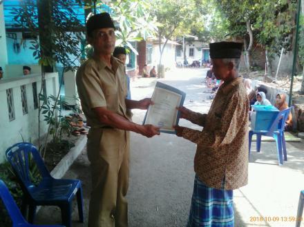 Kembali Aksi Simpati Untuk Warga Glagah Kidul RT 003 Almarhum Amat Muhadi