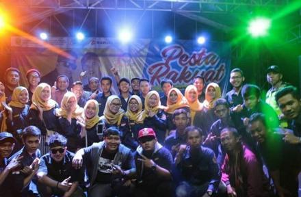 Keseruan Konser Pesta Rakyat Desa Tamanan ke 69 Tahun