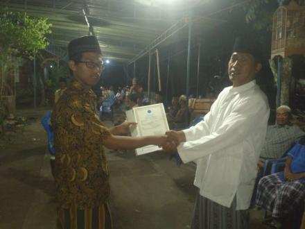 Aksi Simpati Untuk Almarhum Muhammad Gavriel Assala di Glagah Kidul RT.004