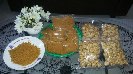 Abon Ayam dan Onde-onde Crispy Hasil Olahan KWT Wilutama