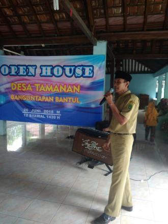 Open House Desa Tamanan Dalam Rangka Halal Bi Halal