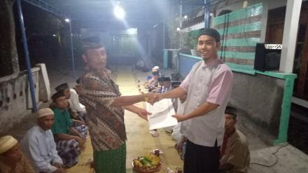 Penyerahan Akta Kematian Di Krobokan RT 001, Ayahanda Wakil Ketua Karang Taruna Desa Tamanan Berpula