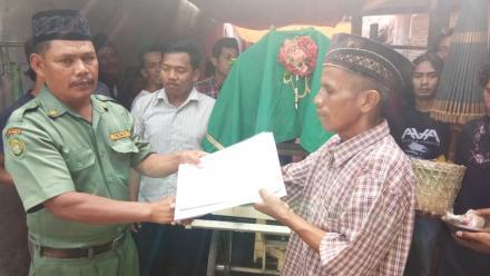 Aksi Simpati di Pedukuhan Tamanan Untuk Alm Udi Utomo alias Sardji di Tamanan Kulon RT 002