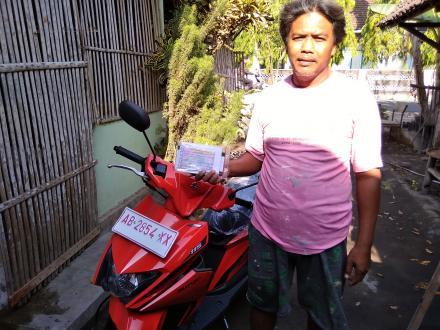 Penyerahan Hadiah Utama Suzuki Next 2 Pada Hari Jadi Desa Tamanan Ke 69